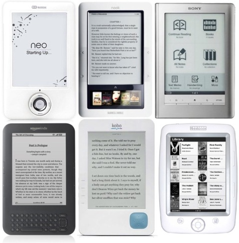 compare e readers