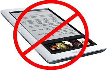 Five Situations In Which You Should Not Use eBooks