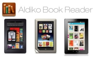 How to install Aldiko on Kobo Vox Nook Tablet and Kindle Fire